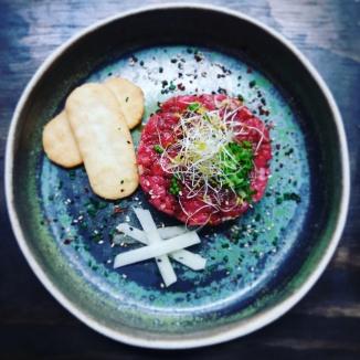 Steak tartar estilo coreano