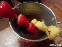 Casa Pamplinas - Brocheta fruta