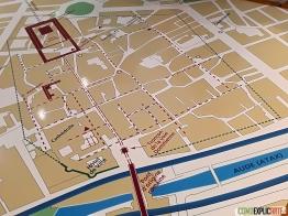 Horreum Romain mapa