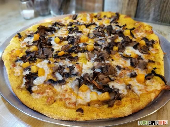 Pizza De Calabaza